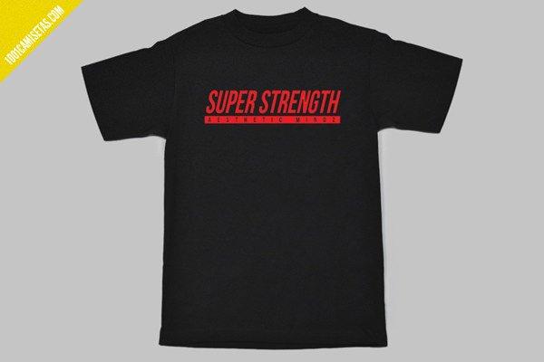 Camisetas gimnasio nerd aesthetic mindz