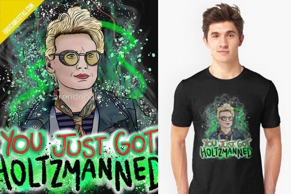 Camisetas holtzmann cazafantasmas