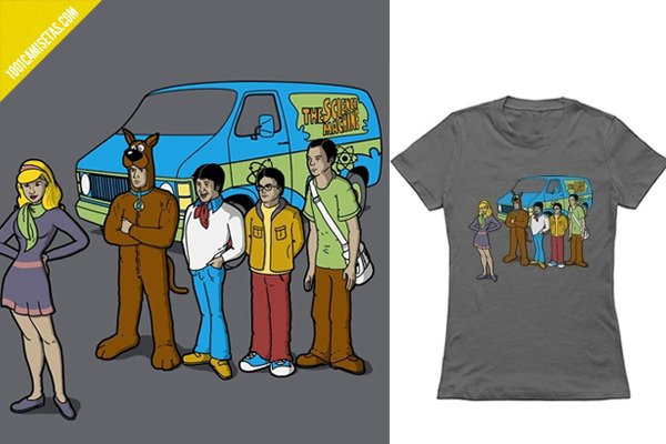 Camisetas the big bang theory