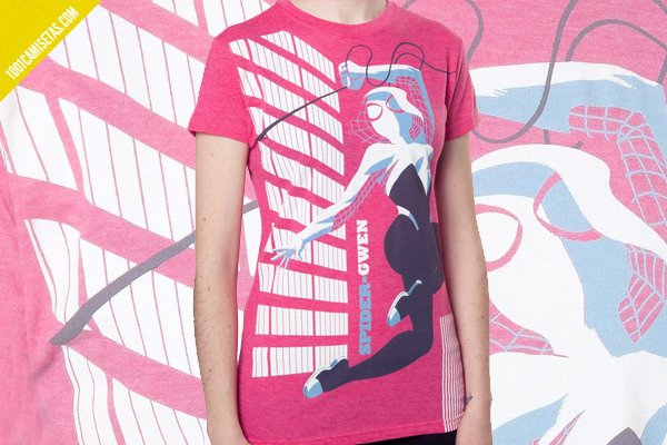 Camiseta gwen spiderman vintage