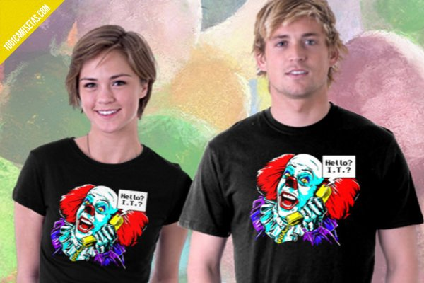 Camiseta it stephen king
