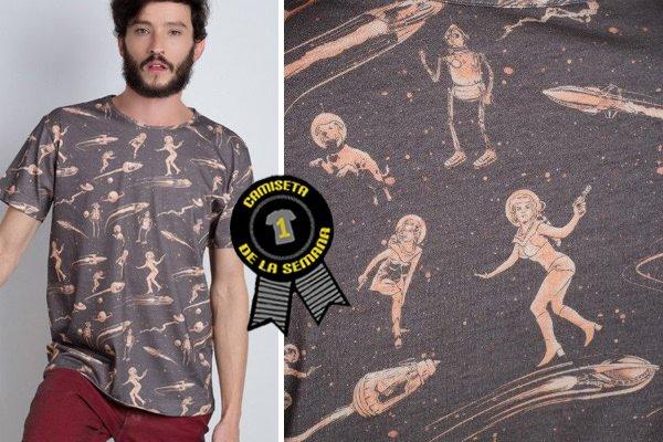 Camiseta semana retrofuturism