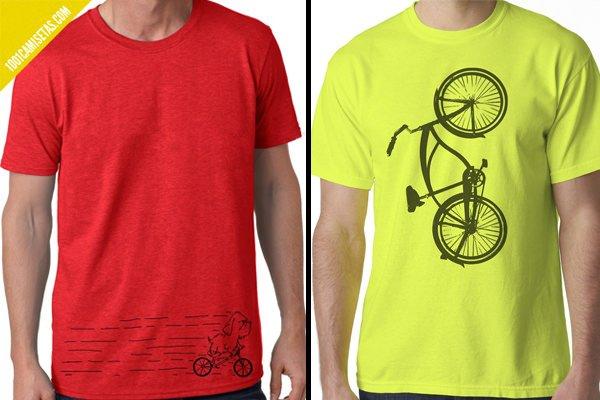 Camisetas bicicleta artisan tees