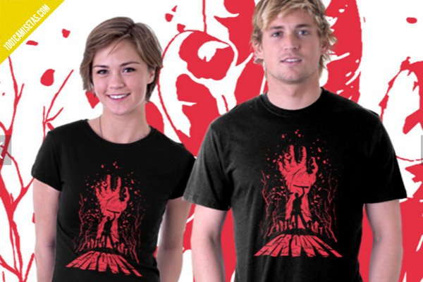 Camisetas de ash vs evil dead