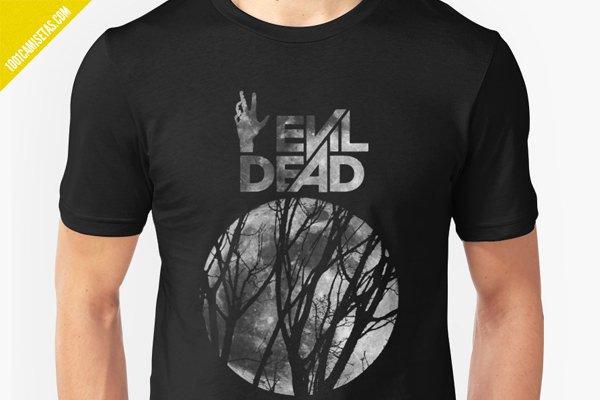 Camisetas de evil dead