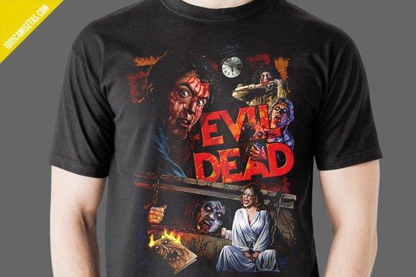 Camisetas evil dead