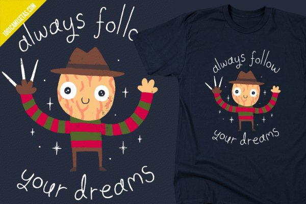 Camisetas freddy krueger