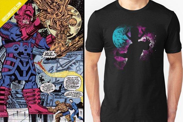 Galactus vs Los 4 Fantásticos