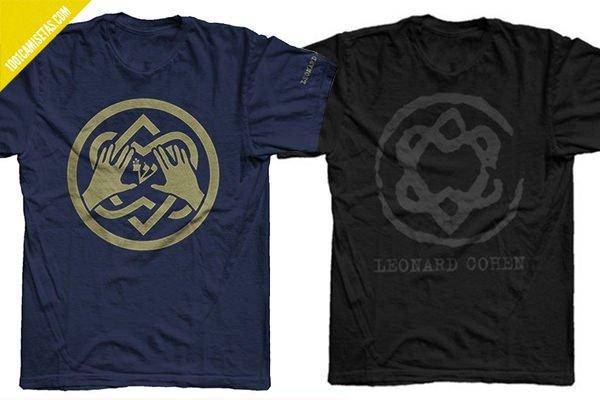 Camiseta leonard cohen