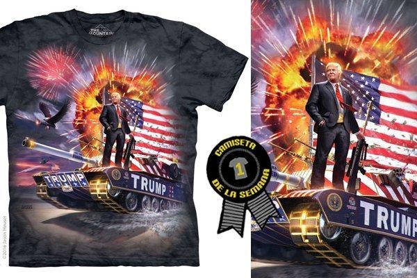 Camiseta semana donald trump