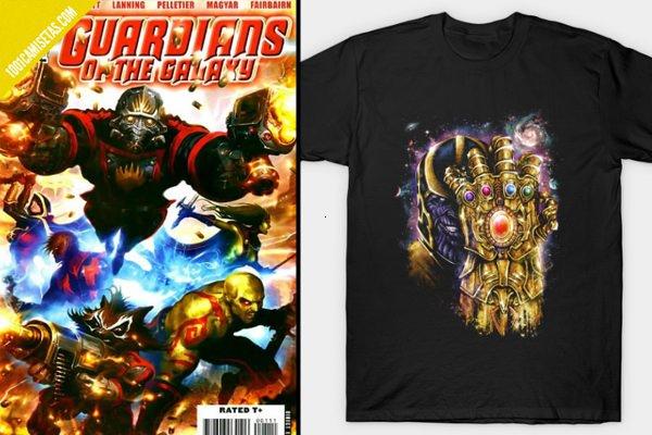 Thanos vs Guardianes de la Galaxia