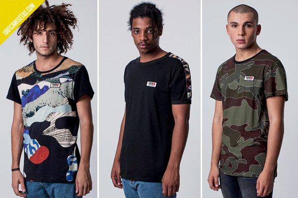 Camisetas daily riot de costalamel