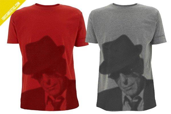 Camisetas leonard cohen