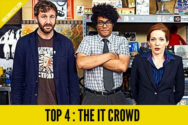 Camisetas the it crowd