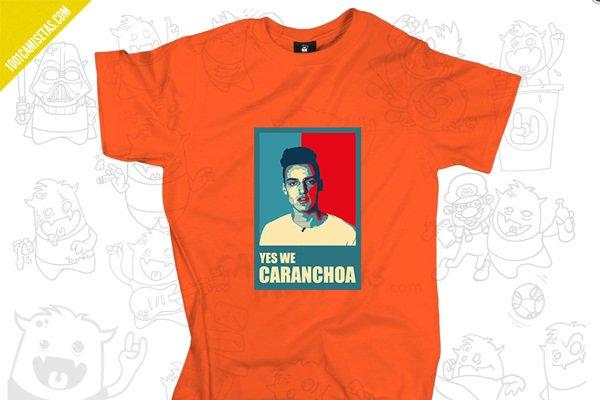 Camiseta caranchoa