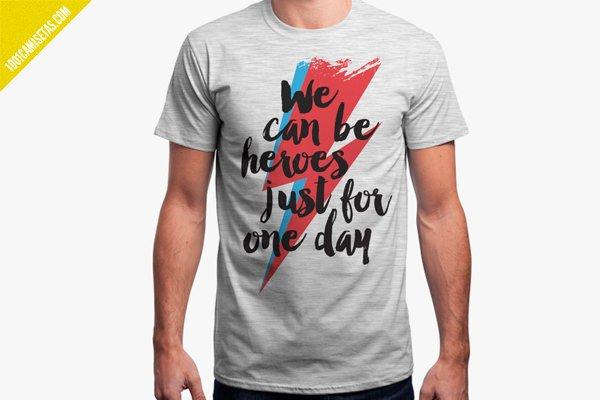 Camiseta david bowie