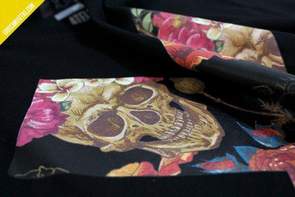 Camiseta Skull Atelier transfer