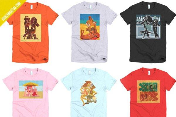 Camisetas brasil sambatribe