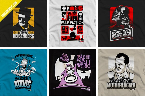 Camisetas cine don robot