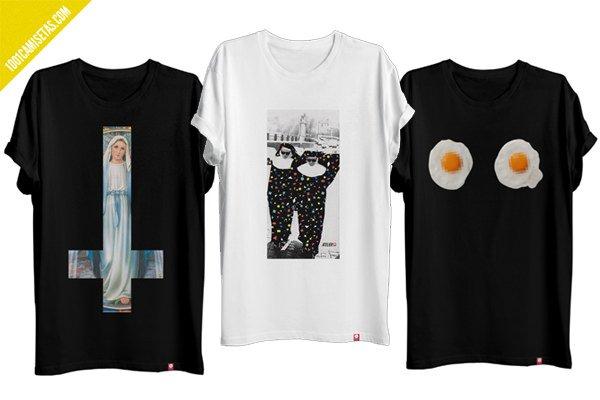 Camisetas diseno atelier