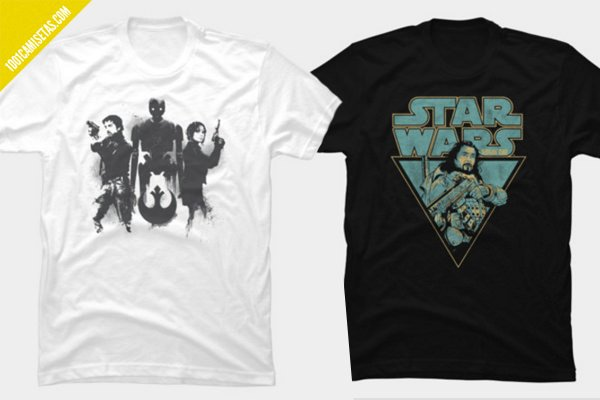 Camisetas rogue one design by humans