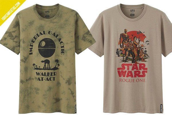 Camisetas rogue one uniqlo