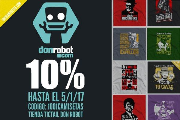 Descuento don robot