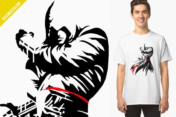 Camiseta assassins creed redbubble
