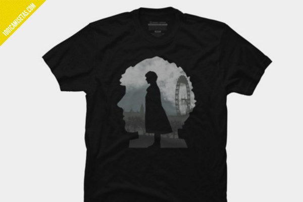 Camiseta sherlock design by humans