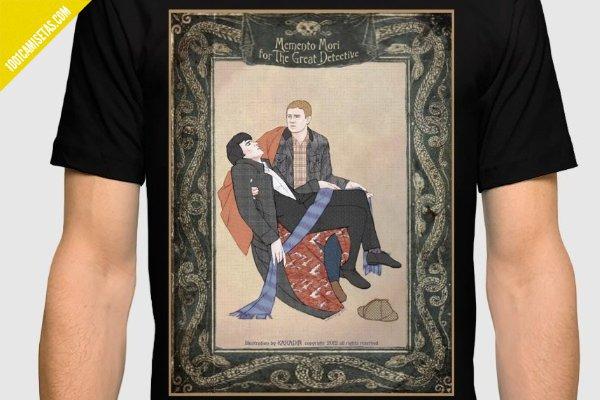 Camiseta sherlock watson society6