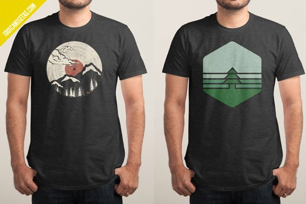 Oferta camisetas threadless