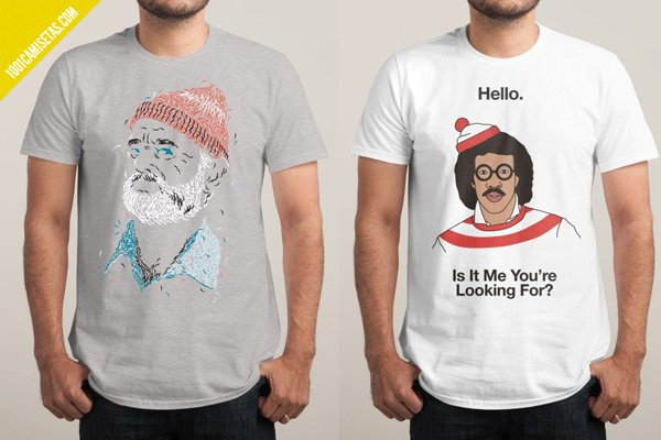 Oferta de camisetas threadless