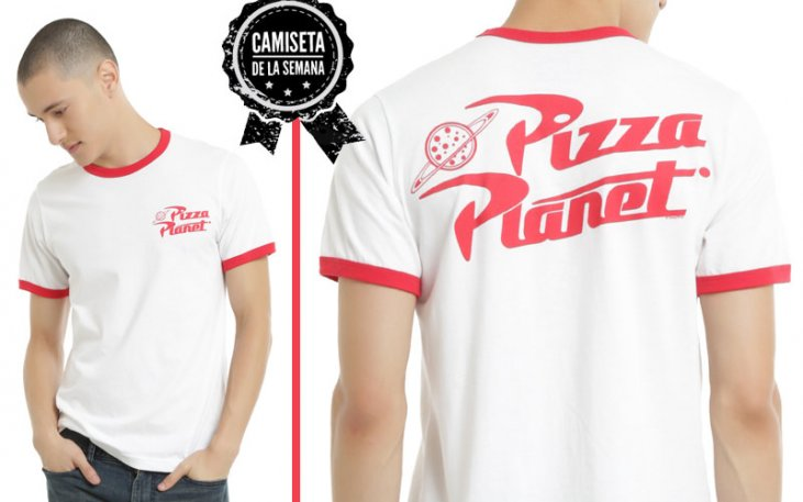 Camiseta De La Semana Pizza Planet 1001 Camisetas