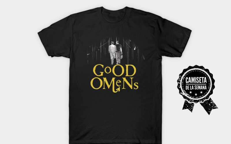 camiseta good omens