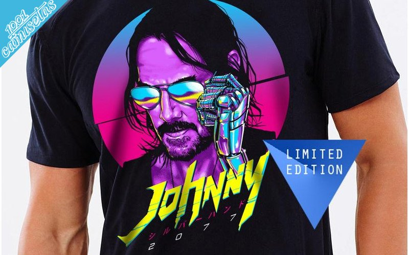 Camisetas Keanu Reeves