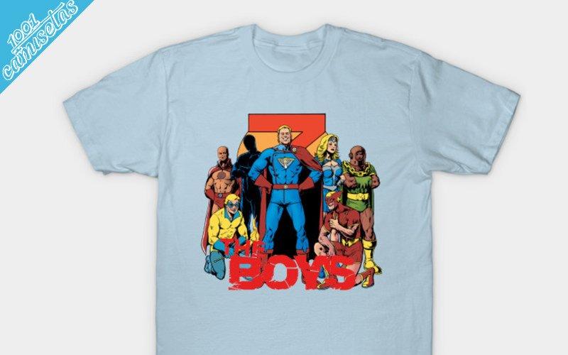 camisetas The Boys
