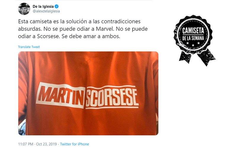 Camiseta de Martin Scorsese