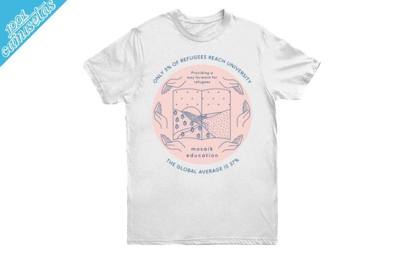 Camisetas solidarias Mosaik Education