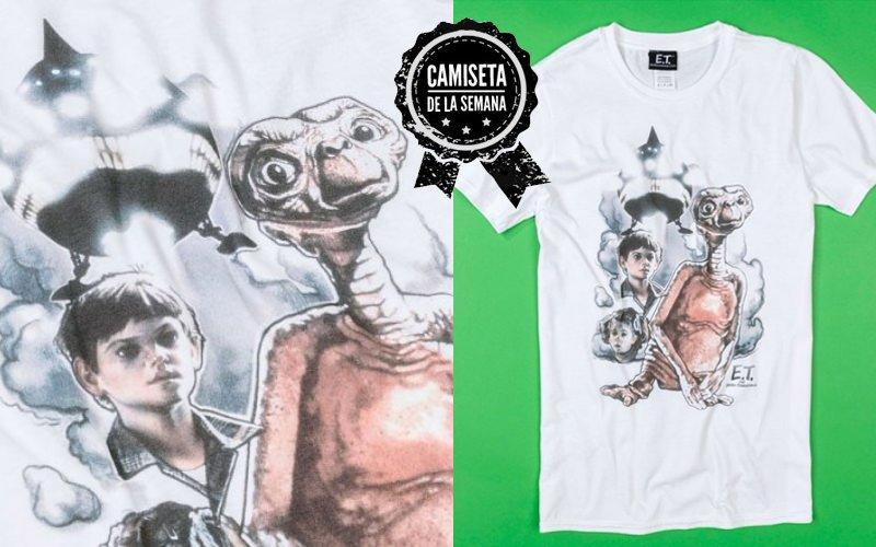 camiseta de E.T.