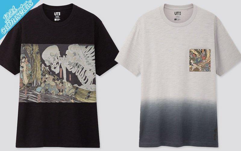 Camisetas Ukiyo-e