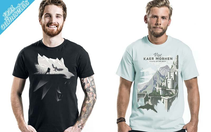 camisetas de The Witcher