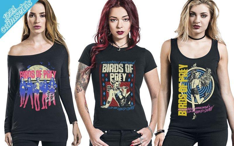 camisetas de Harley Quinn