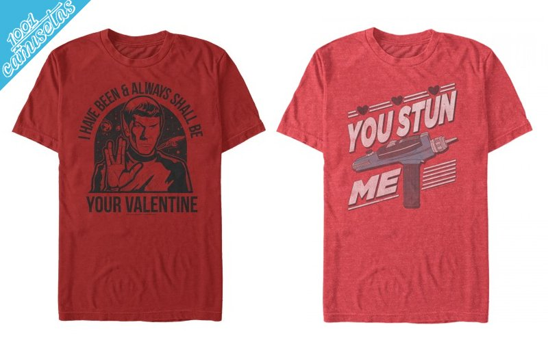 camisetas de San Valentín