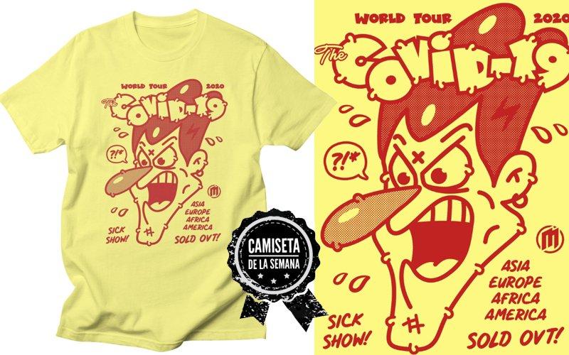 camiseta covid-19