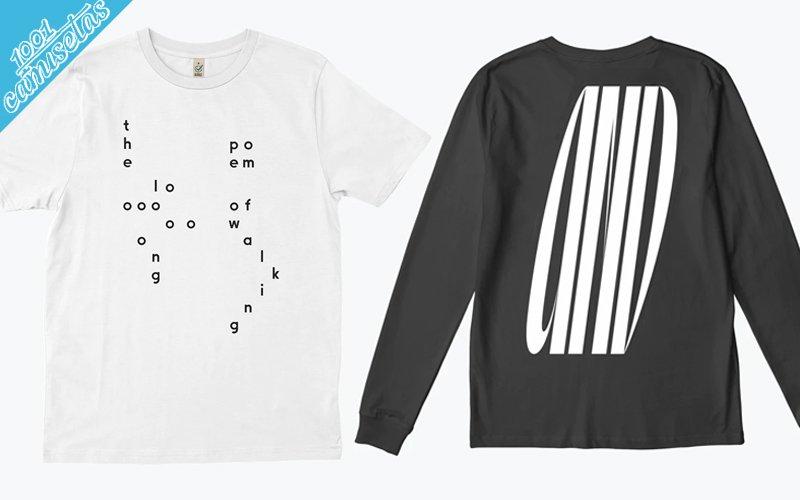camisetas tipográficas